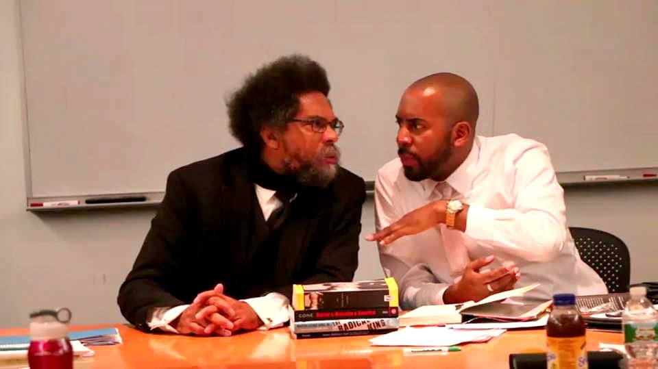 Cornel West and Frank Leon Roberts